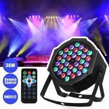 36W Par LED Can RGB Stage Light IR Remote Control Party Disco DJ Lighting Lamp