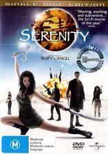 Joss Whedon's SERENITY : NEW Firefly Movie DVD