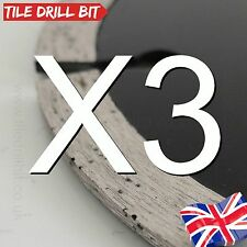3 Ceramic Stone Tile Cutting Disc Blades 115mm Wet Tile Cutters or Angle Grinder