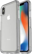 Otterbox Symmetry Series Clear Back Phone Case Cover For iPhone X / iPhone XS