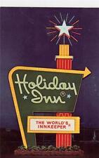 DD08. Advertising Postcard.  Holiday Inn Hotel, Iowa City, Iowa, USA