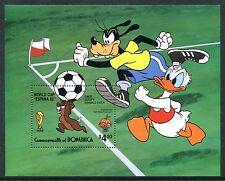 Dominica 1982 Disney World Cup Football Soccer Flag Animation. x14373