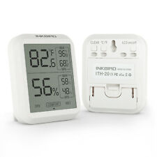 More details for inkbird digital lcd thermometer hygrometer humidity meter room indoor temperatur