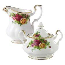 Royal Albert Old Country Roses - Sugar Bowl,Creamer & Regal Tray Set NEW