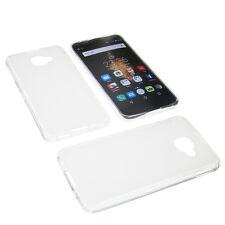 Tasche für Alcatel One Touch Idol 4S Schutz Hülle TPU Gummi Case Transparent