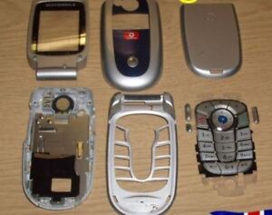 Genuine Motorola V525 Full Housing Fascia Cover Keypad