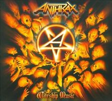 Worship Music by Anthrax (CD, Sep-2011, Megaforce)
