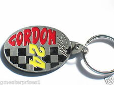 Jeff Gordon Keychain Dupont #24 Checkered Flag Racing Metal k/c , (#217)(**)