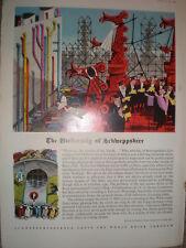 The University of Schweppshire George Him art advert 1961