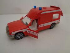 Mercedes 260 E Binz Ambulanz  Feuerwehr Krankenwagen Siku Nr. 1630