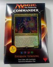 Commander 2016 Deck - Entropic Uprising (UBRG). Magic the Gathering
