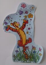 1 Iron On Fabric Appilque Disney Licensed Tigger Flowers - Handcut