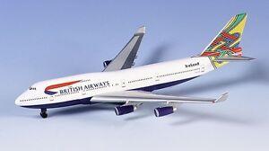 Herpa 511537 British Airways Boeing 747-400 1:500 Scale Ireland Livery REGG-GYGB
