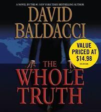 The Whole Truth by David Baldacci (2009, CD, Abridged)