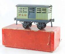 Train HORNBY FRANCE echelle O - WAGON BETAILLERE avant guerre