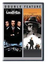 GOODFELLAS / UNTOUCHABLES  DOUBLE FEATURE DVD R1