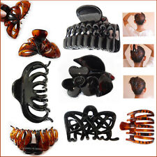 Hair Claw Clip Clutcher Clamps Butterfly Folding Grip Hold Up Twist Large Style