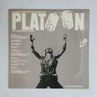 PLATOON Soundtrack A181742 LP Vinyl VG++ Cover VG++