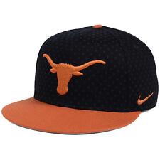 6844a938601 Nike Texas Longhorns Local DNA Seasonal Dotted True Flat Bill Snapback Cap  Hat