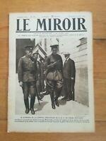 JOURNAL LE MIROIR N°189 1917 Kerensky Broussilof Russie Macédoine Béthencourt