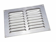 NEW 12 X Bright Chrome Louvre Grille Vents Ventilation Cover 9 X 6 Inch