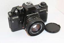 Praktica BMS 35mm Spiegelreflexkamera mit PB 50mm f1.8 Lens in FULL WORKING ORDER, Nizza (946)