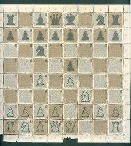 Hungary. 2004 Full Sheet,Folded. Mnh. Chess ,History. Sc.# 3908. See Scan.