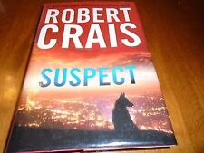Suspect signed by Robert Crais (2013, Hardcover 1st/1st)