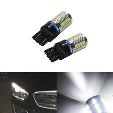 2 T20 7440 7443 W21/5W Ampoules LED 21 SMD Veilleuses position Jour diurne Blanc