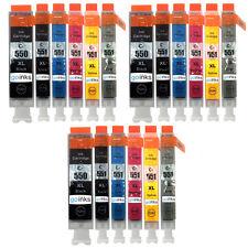 18 cartucce d'inchiostro per CANON PIXMA IP8750 MG6350 MG7150 mg7550 MX925