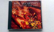 PAUL McCARTNEY : FLOWERS IN THE DIRT CD 1989