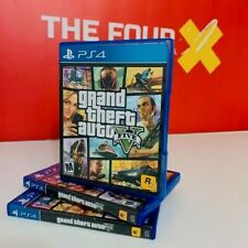 Grand Theft Auto V Ps4 PlayStation 4 {Sold & Shipped by The Four Games 🖖}