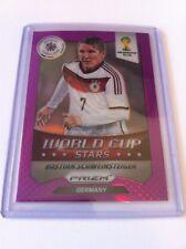 Panini Prizm 2014 World Cup Stars No.16 Schweinsteiger Germany Purple 88/99