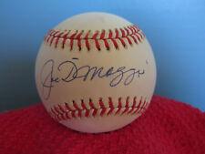 JOE DIMAGGIO Yankees   Autographed/Signed American League Baseball  W/COA
