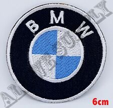 BMW Car Motorcycle Biker Jacket ,EMBROIDERED Iron on patch badge logo
