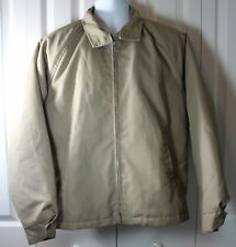Cal Craft Men's Large 42-44 Made in the USA Zipper Jacket
