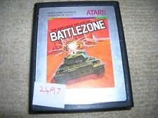 BATTLEZONE  - Rare ATARI 2600 Game