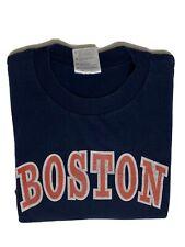 Vtg ROGER CLEMENS No 21 BOSTON RED SOX (XL) Shirt Jersey NEW YORK YANKEES SUCK