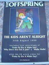OFFSPRING The Kids 1999 promo poster 30 x 20  original