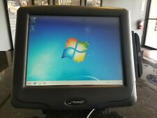 Works! Radiant Systems P1515 Pos Touch Screen Terminal Aloha/Ncr W/ Card Reader