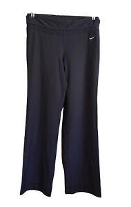 Nike Dri Fit Women's Sz Medium Gray Workout Yoga Pants RN56323 CA05553 Fit Dry