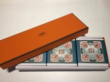 HERMES - Eau de O'range Verte - Perfumed BAR SOAP 3.5 oz / 100g *BRAND NEW Set 3