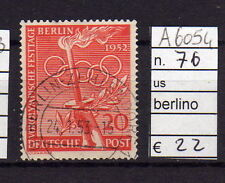 FRANCOBOLLI GERMANIA BERLINO USATI N°76 (A6054)