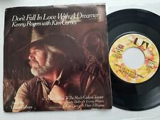 KENNY ROGERS w/ KIM CARNES - Don't Fall in Love with a Dreamer 1980 COUNTRY 7""