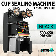 420W Fully Automatic Cup Sealing Machine Coffee 500~650 Cups/H Digital Control
