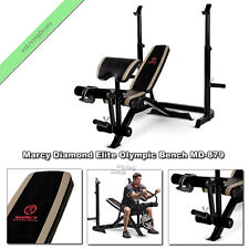 Marcy Diamond Elite Olympic Bench Adjustable Benches Weight Lifting Equipment