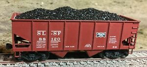 Realistic Coal Loads for Accurail 2-Bay Offset Hopper
