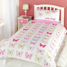 Fly Up High Butterfly Double Duvet Cover Set Bedtime Polka Dots