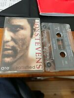 JON STEVENS ARE U SATISFIED Cassette Tape