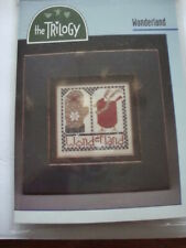 the Trilogy Wonderland Cross Stitch Kit Twisted Thread/Heart in Hand/Bent Creek